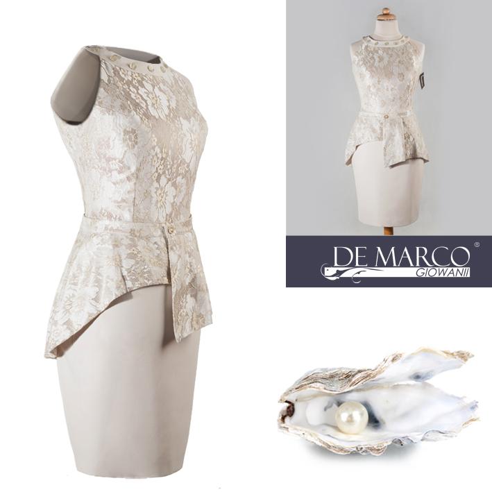Eleganckie kreacje dla mamy wesela szyte na miarę u projektantki mody w De Marco.