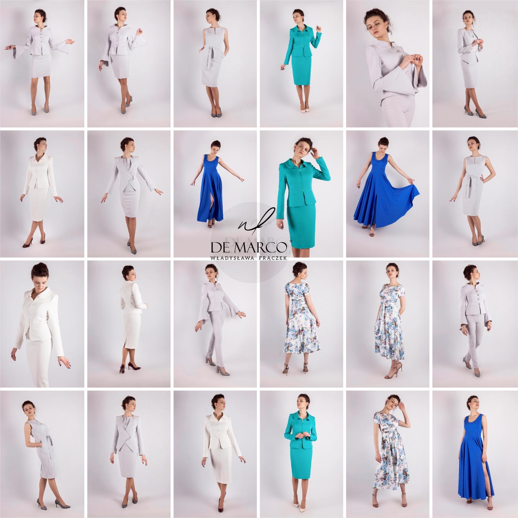 Profesjonalne szycie na miarę sukienki biznesowej, weselnej, balowej, wizytowej. Sklep internetowy z ekskluzywną odzieżą damska od projektantki.