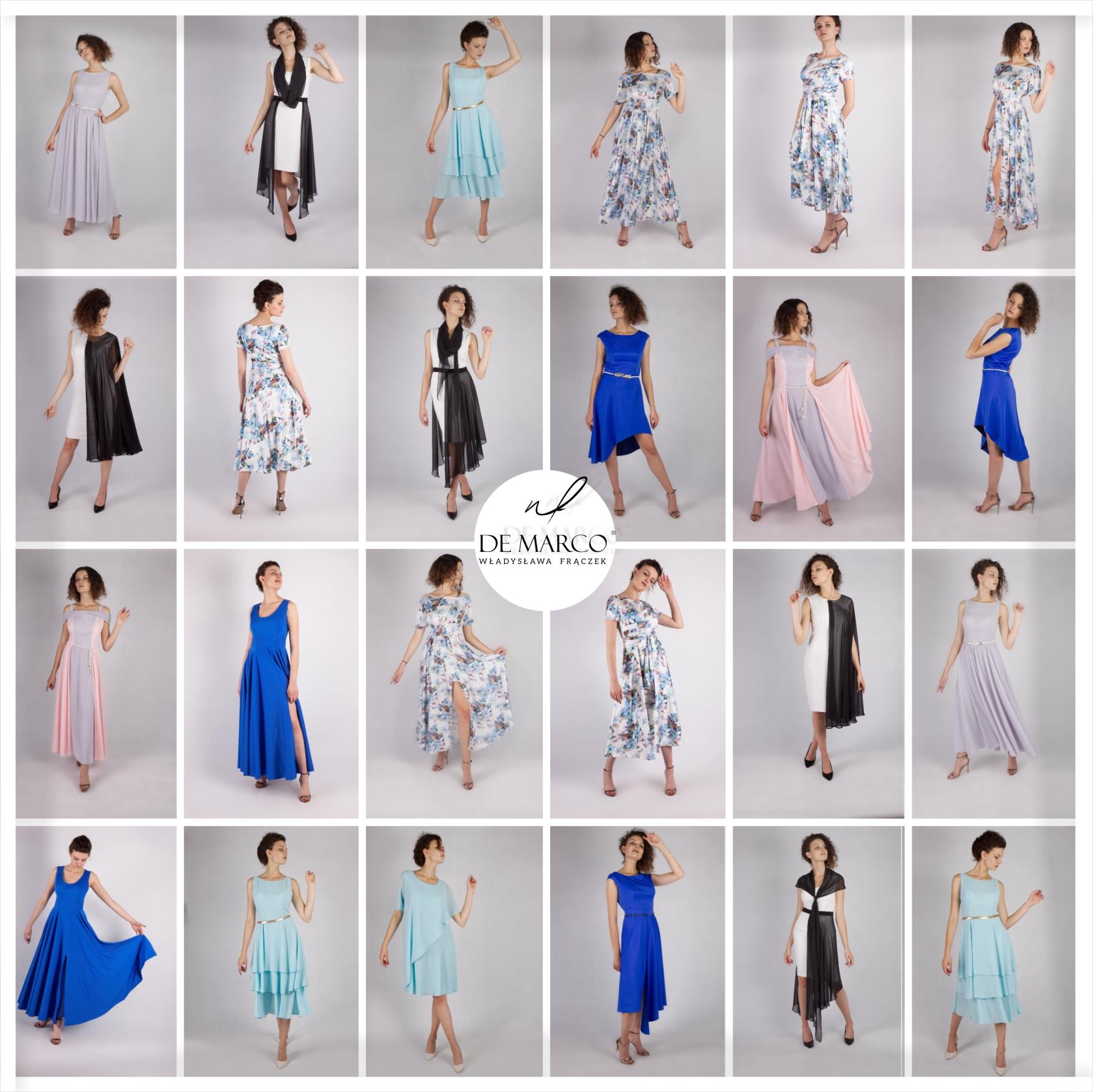 eleganckie sukienki De Marco. sklep internetowy