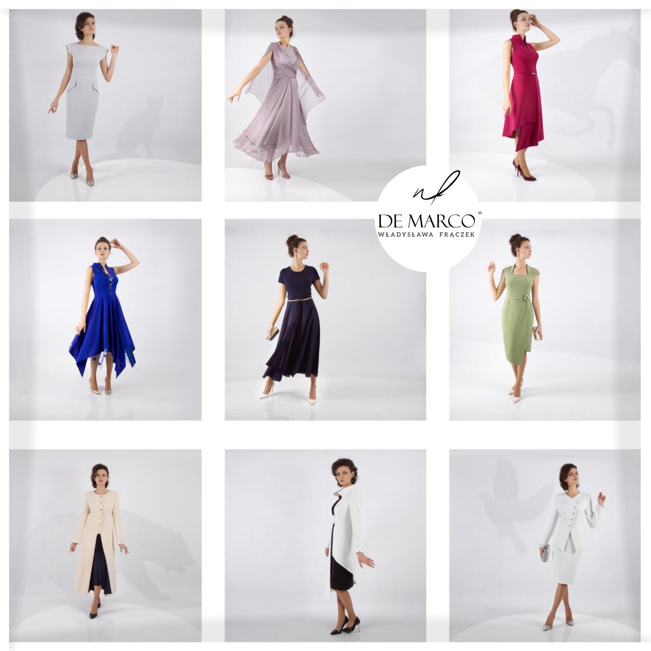 Eleganckie ubrania dla kobiet.