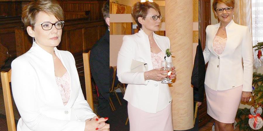 Modne żakiety i eleganckie sukienki na wesele dla mamy sklep internetowy De Marco z ekskluzywną odzieżą damską na każdy rozmiar.