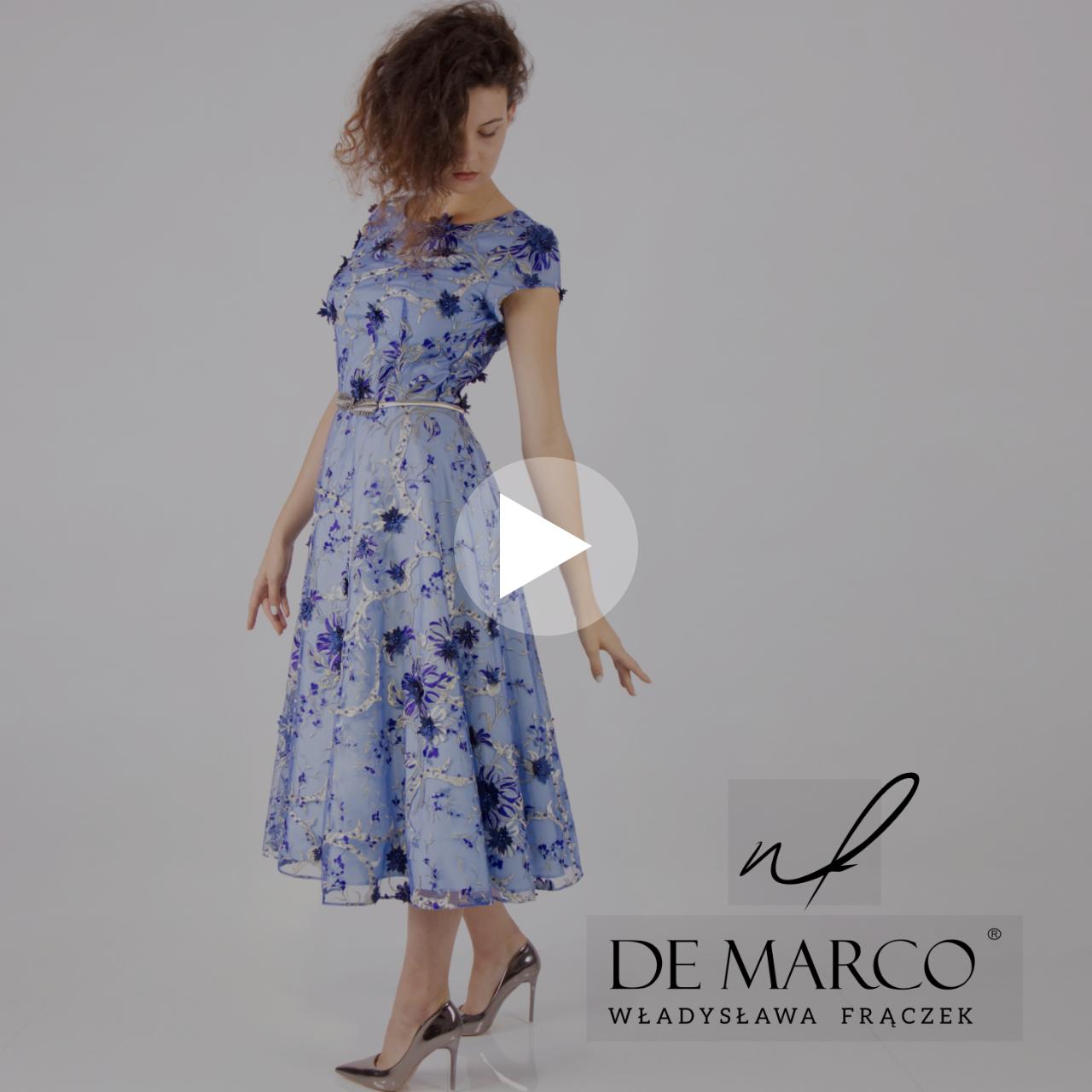 Najpiękniejsze sukienki na wesele dla mamy Pana młodego lub Panny Młodej. Salon Mody De Marco: video z sesji zdjęciowej