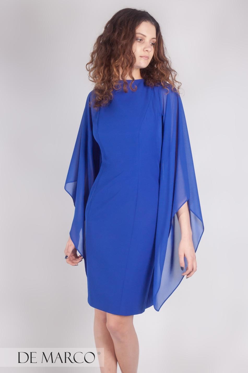 cf72a027e45b11 ... Najpiękniejsza sukienka dla kobiet sukcesu Jordana · Olśniewająca  sukienka szafirowa Jordana ...
