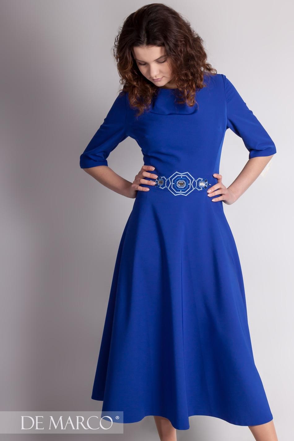 6eed9be4ec8c0d Zachwycająca sukienka retro Fortuna