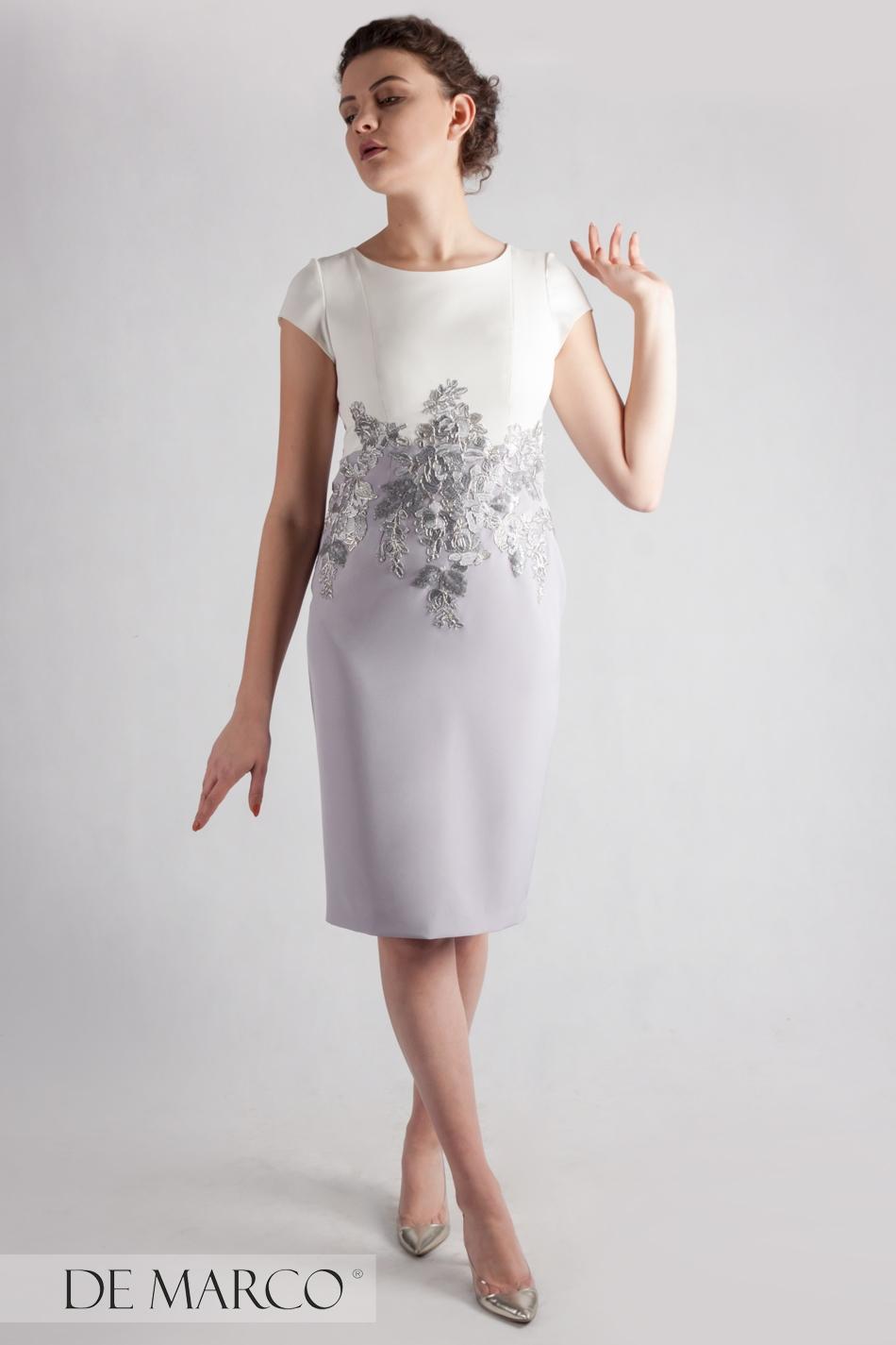 bdd632b83a Idealna Sukienka Na Wesele Dla Mamy Pana Młodego Ryheza Iii