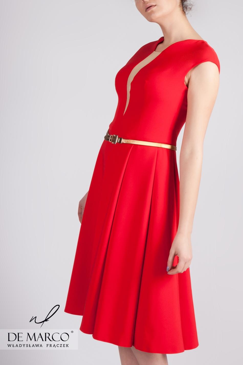 Czerwona Sukienka Na Studniówkę Massalia