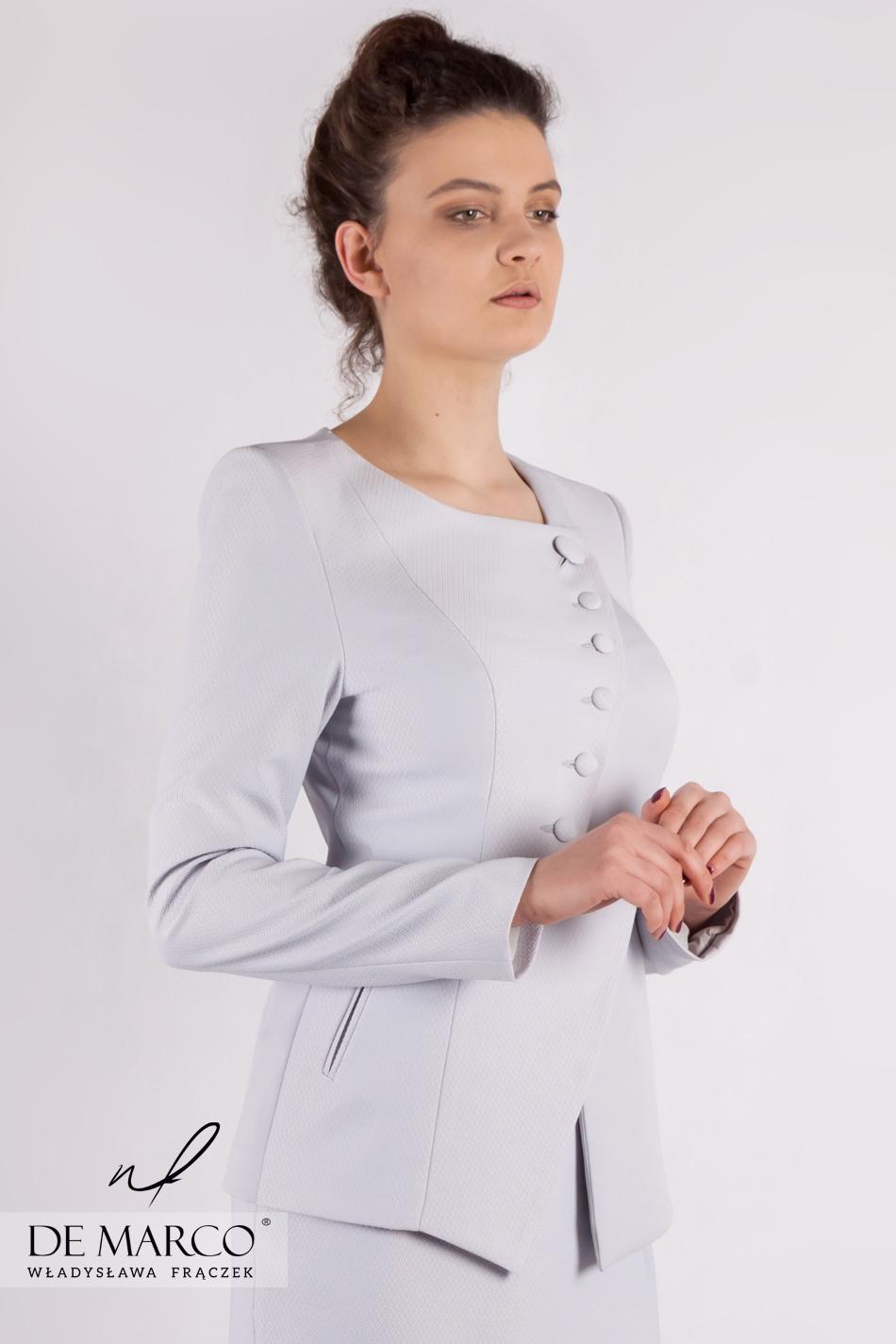 796b966ea0 Zjawiskowy zestaw dla eleganckiej kobiety Petronella · Najpiękniejszy  kostium o oryginalnym fasonie Petronella ...