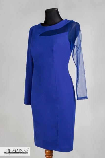86a32ba10fbe9d Olśniewająca sukienka z koronką Atalia II