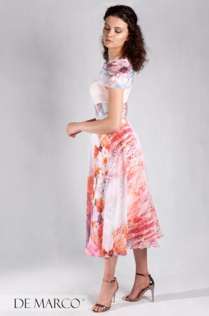 247fece39e Elegancka śmietanowa sukienka dwuczęściowa Leticia 38. Sukienka Leticia B  550.00 zł · Zjawiskowa sukienka na lato Kenia