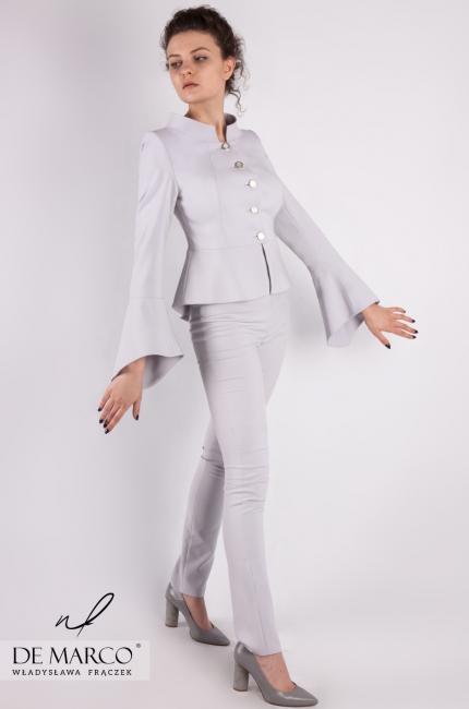 c90c563d3f Biznesowe spodnium do pracy Astrid